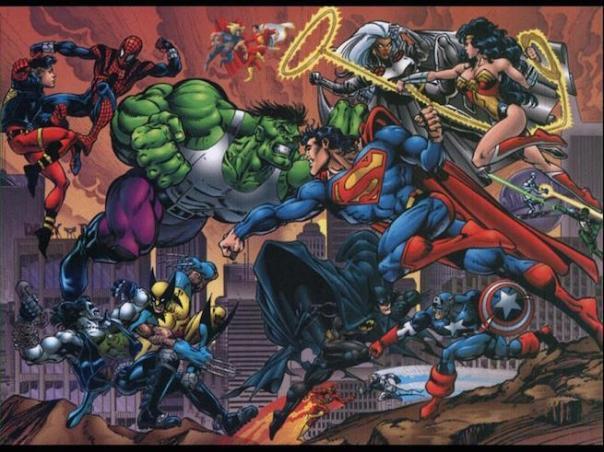 Marvel et DC