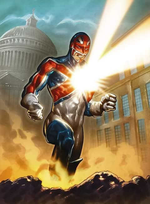 Captain Britain de Marco Santucci