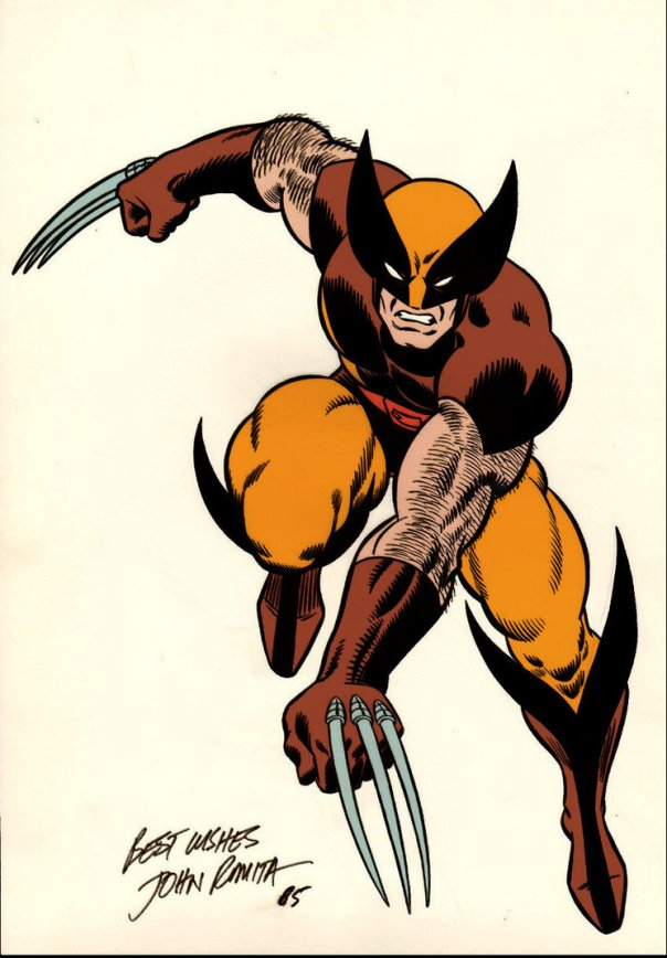 John Romita Sr Wolverine