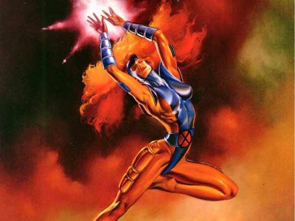 Julie Bell Jean Grey