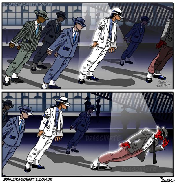 Michael Jackson et Spider-Man