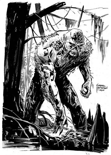 Gabriel Hardman Swamp Thing