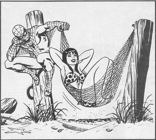 John Romita Sr Spider-Man et MJ