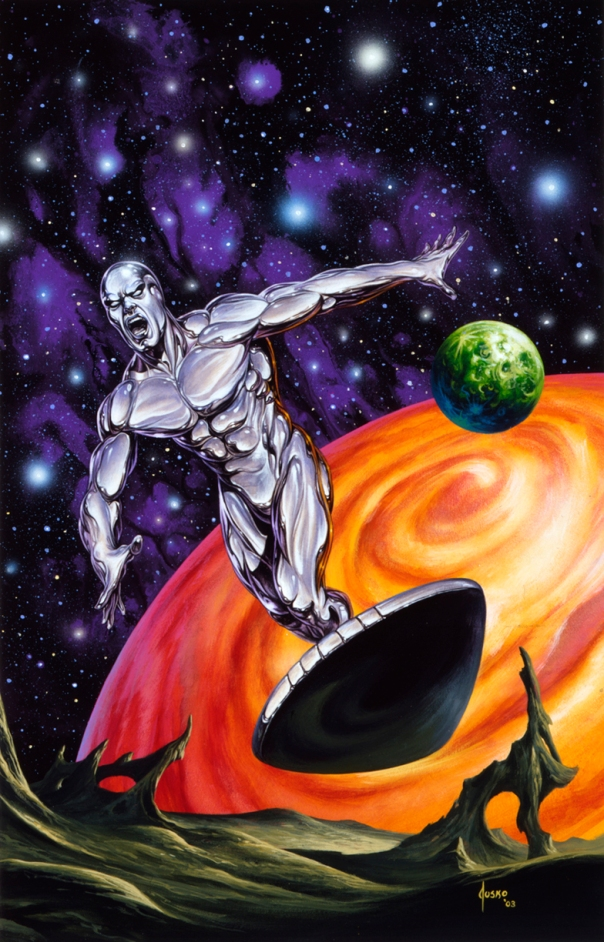 joe Jusko Silver Surfer