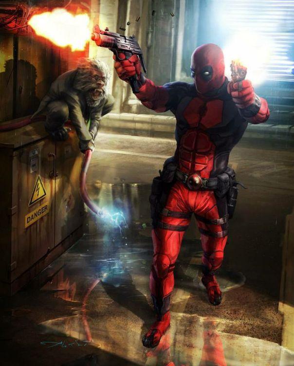 Aleksi Briclot Deadpool