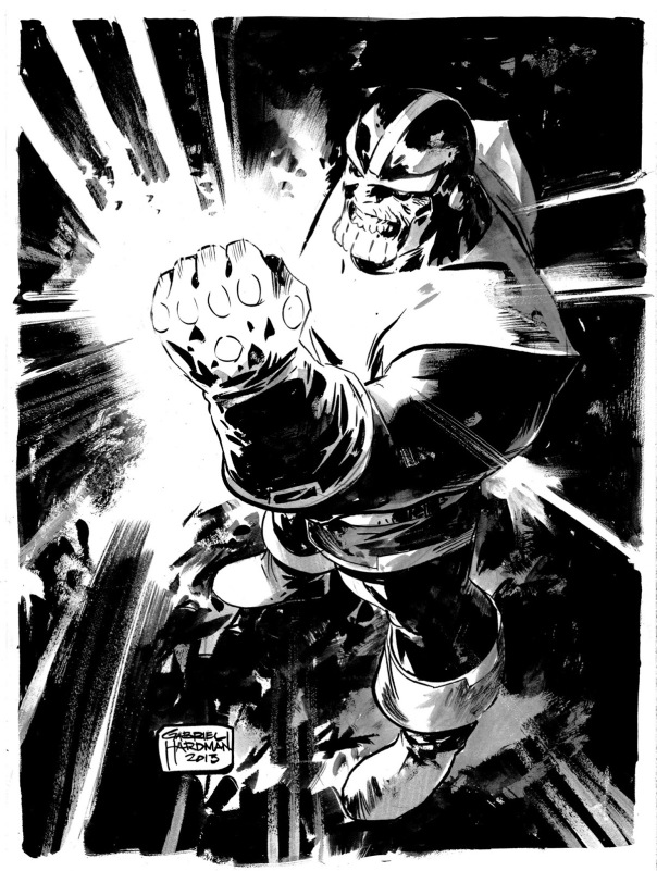 Gabriel Hardman Thanos