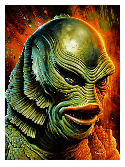 Jason Edmiston The Creature From The Black Lagoon