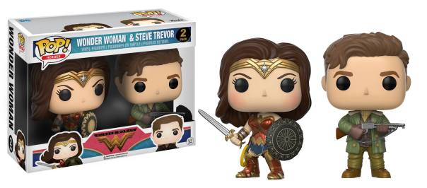 Wonder Woman et Steve Trevor