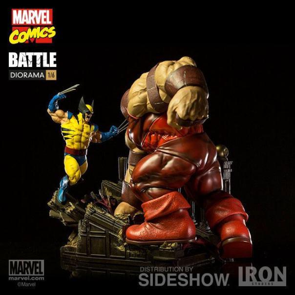 Wolverine & Juggernaut