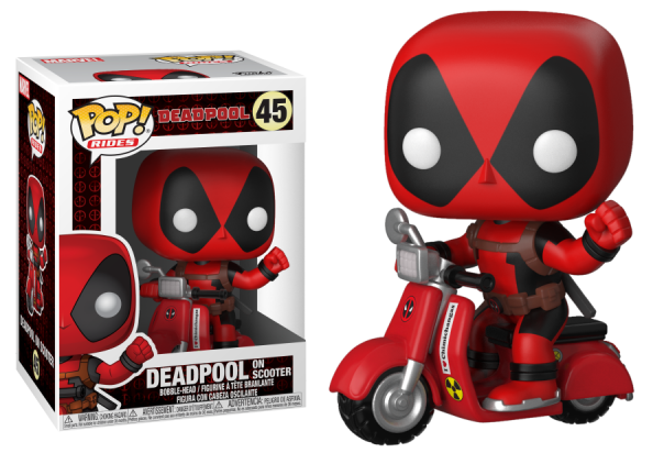 Deadpool Scootter