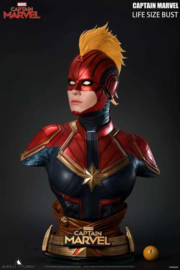 Buste Captain Marvel