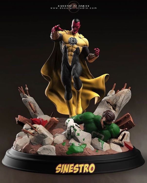 Sinestro Vs. Green Lantern
