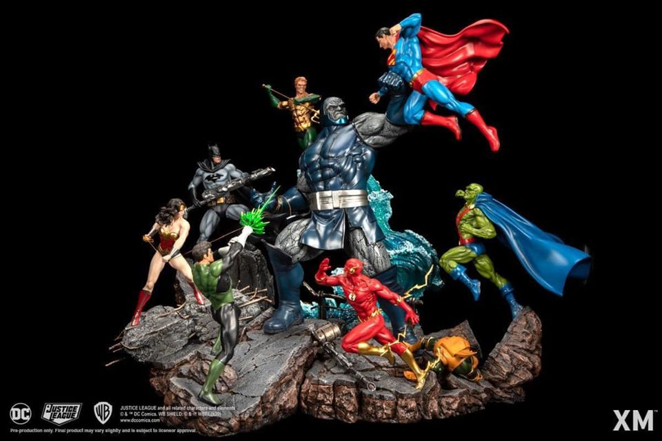Darkseid Vs Justice League