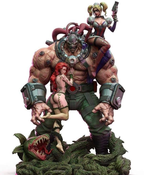 Bane, Poison Ivy et Harley Quinn