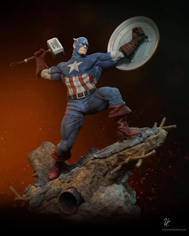 Captain America 121