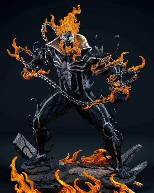 Ghost Rider Venomized